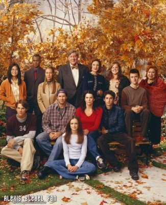 Gilmore Girls Season 3 promotional stills