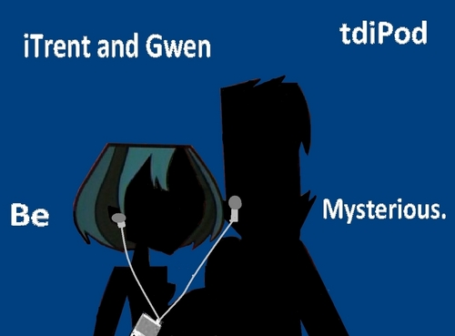 Gwen and Trent Ipod!