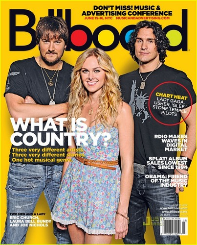 Laura klok, bell Bundy Covers Billboard Magazine!