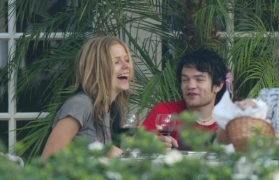 Lunch with Deryck in Hollywood - 24.07.04