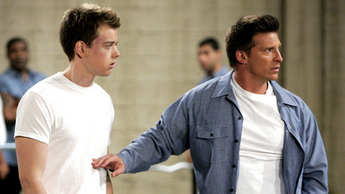 Michael Corinthos and Jason morgan