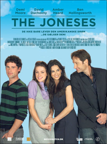 The Joneses Danish Poster