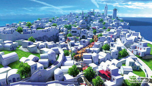 sonic unleashed town