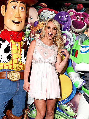 Britney Spears at Toy Story 3 L.A. premiere