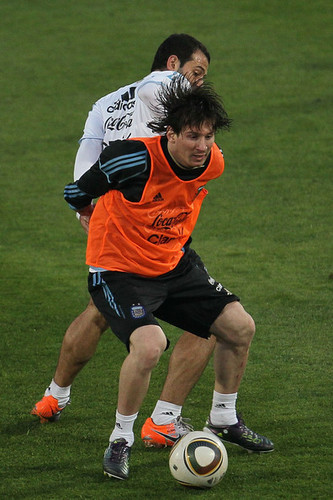 Messi - Training  World Cup 2010