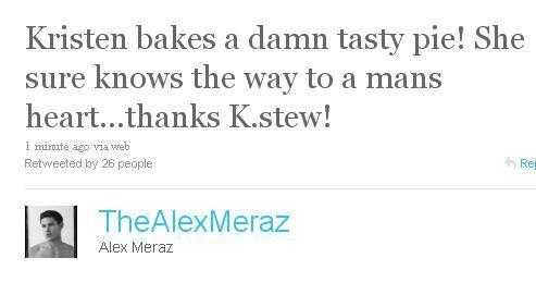 Alex Tweets About Kstew
