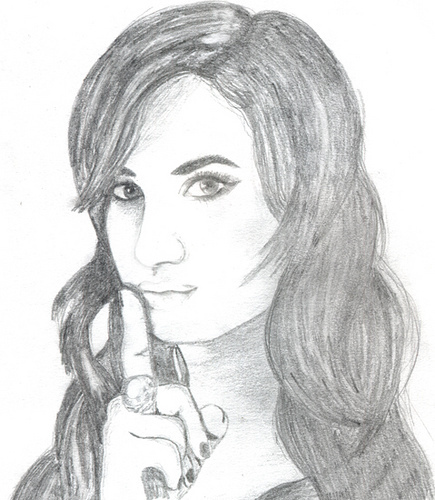 Drawing Of Demi Lovato
