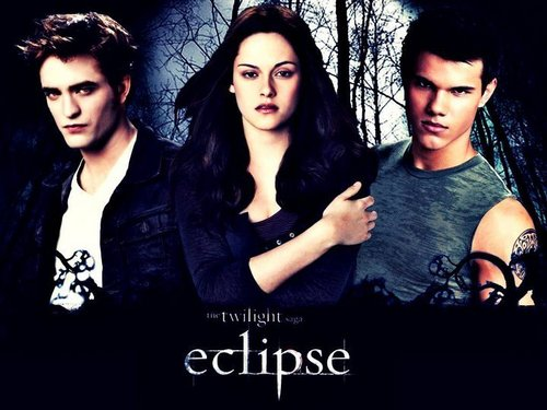 Edward, Bella and Jacob / Eclipse