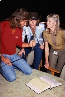 Olivia Newton-John and the Bee Gees