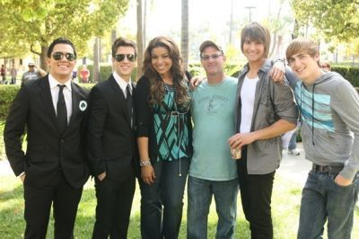 On The Set of BIG TIME SPARKS