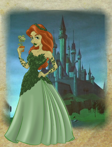Poison Ivy as a disney Princess