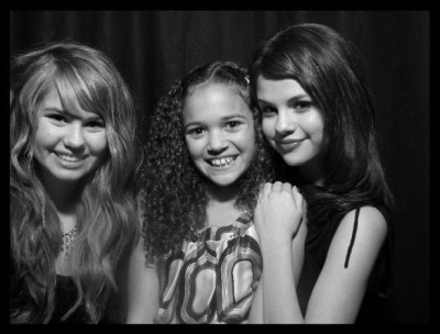 Selena Gomez,Madison Pettis and Debby Ryan
