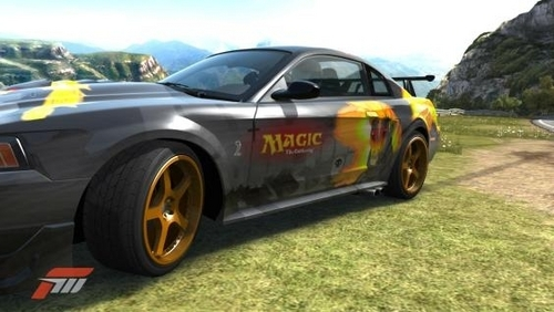 nightmare mustang in forza 3