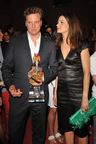 Colin Firth at the Taormina Film Festival 2010