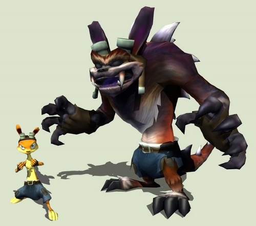 Daxter (and Dark Daxter)