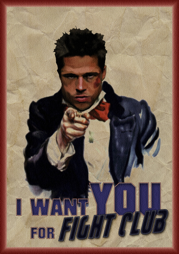 I Want u For Fight Club