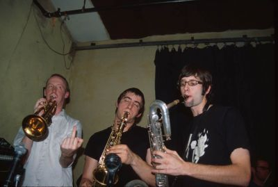 Jon plays the saxophone.
