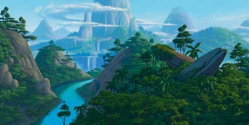 The Lion King Landscapes