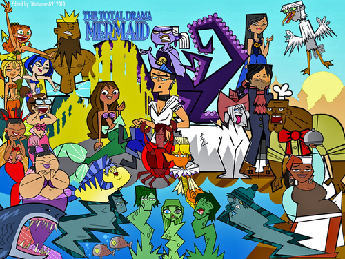Total Drama Action - The Little Mermaid version
