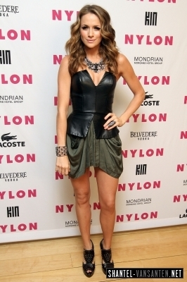 Shantel @ Nylon + Kin Musica Issue Party Hosted da M.I.A.