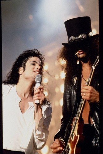 Slash & Michael Jackson