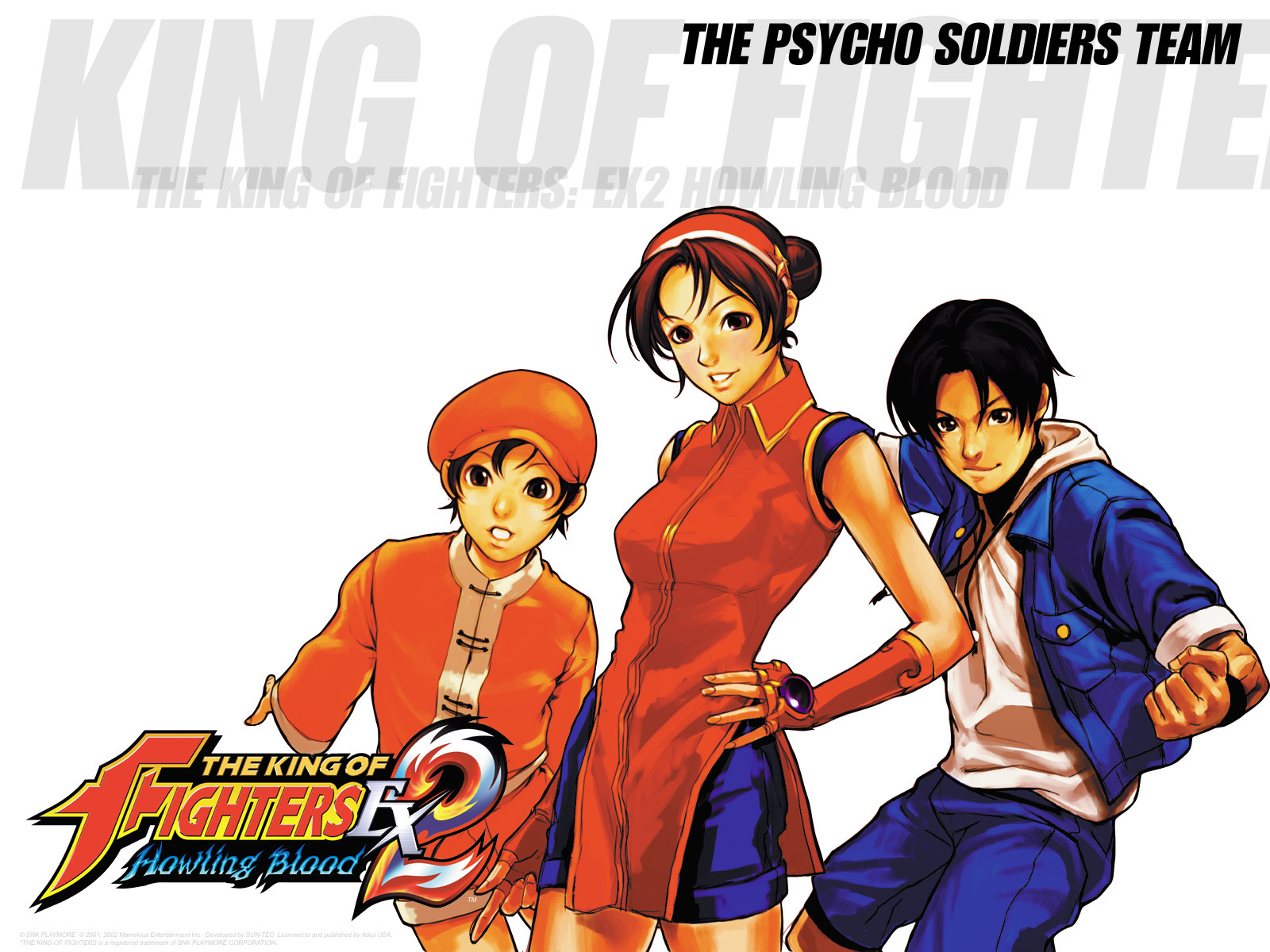 KOF EX2 -psycho soldiers team
