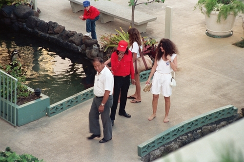 MICHAEL IN HAWAII - 1988