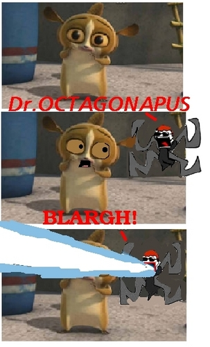 Mort from Madagascar meets Dr.Cotoganopus!