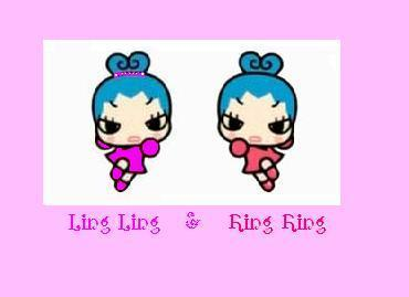 Ring Ring and her twin sister Ling Ling