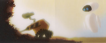 WALL-E and EVE Concept Art