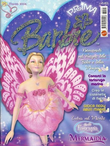 Barbie Fairytopia Mermaidia Italian magazine