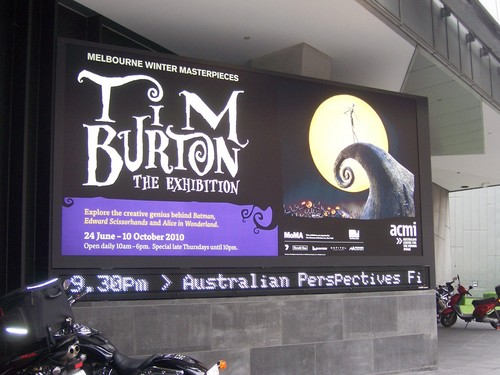 Tim Burton's Exhibition at ACMI in Australia
