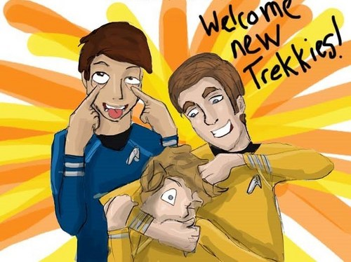 Welcome new Trekkies