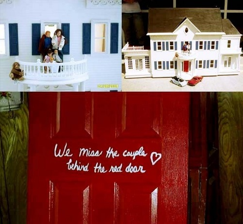 BL - we miss the couple behind the red door