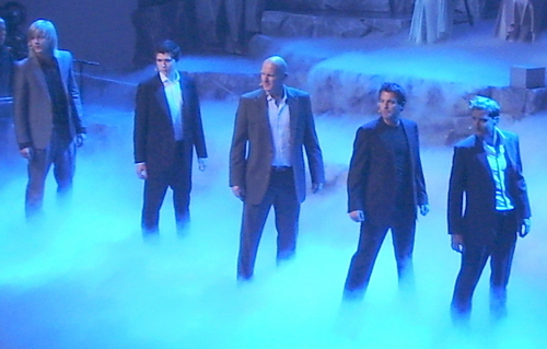 Celtic Thunder performs at the opening of the Rotary International Convention in Montreal, 20-6-2010
