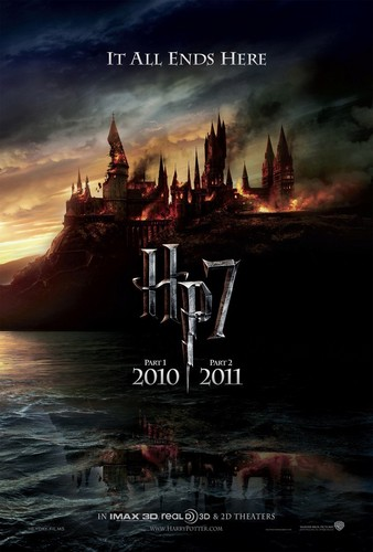 Harry Potter and the Deathly Hallows official teaser poster