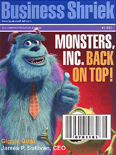 Monsters, Inc. Back on Top!