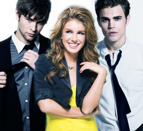 Nate , Annie and Stefan