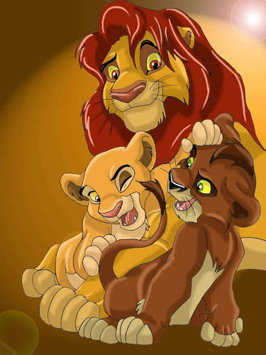 Simba and some other lions