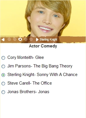 Vote for Sterling Knight