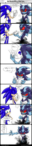 Why Mephiles REALLY killed Sonic...