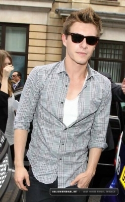 Xavier Samuel Out And About In 2010