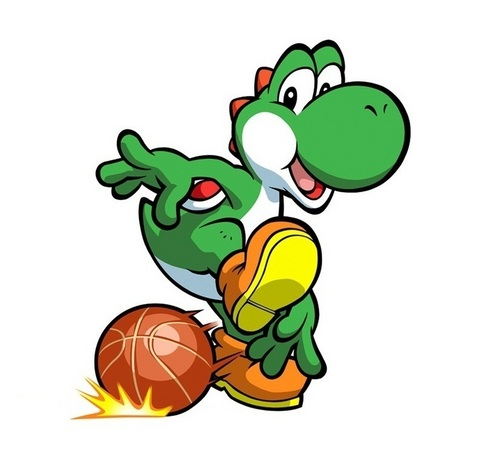 Yoshi on Basketball