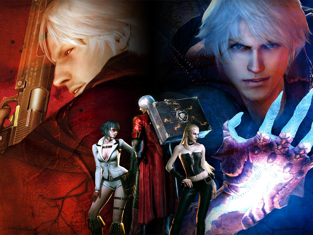 Devil May Cry Devil May Cry 4 Wallpaper 13697266 Fanpop