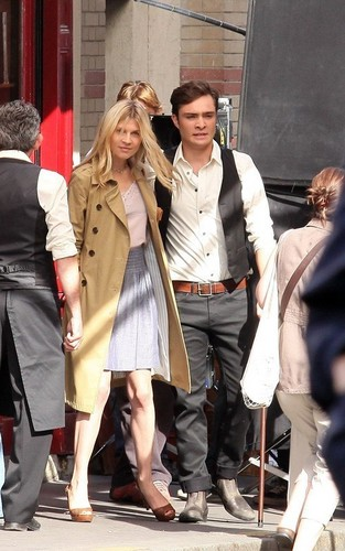 Ed Westwick - Set foto - July 6th - Paris