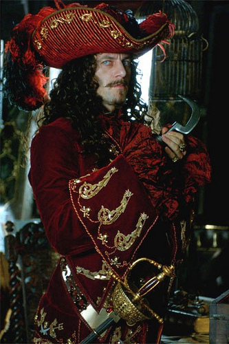 Jason Isaacs as Captain Hook
