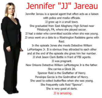 "Jennifer ""JJ"" Jareau - Facts"