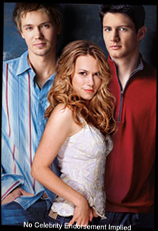 Lucas , Haley and Nathan