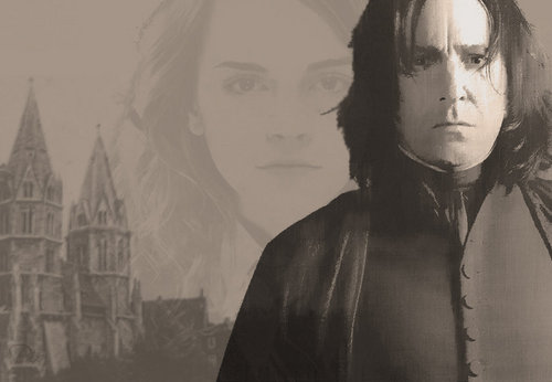 Severus Snape and Hermione Granger