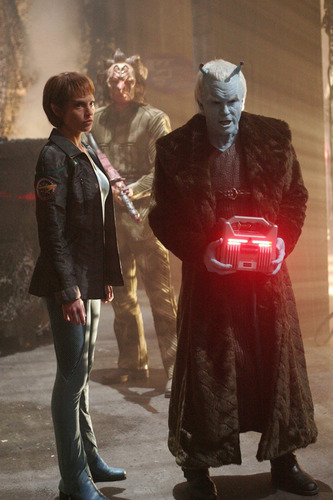 "T""Pol and Shran"